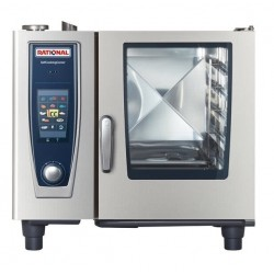 Rational SCC 61 - 6 GN 1/1 a gas  - Self Cooking Center 61