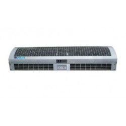 Cortina de aire con calefacción gran potencia - 200 cm