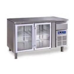 Bajomostrador conservación GN 2100 TNG - 2 puertas cristal