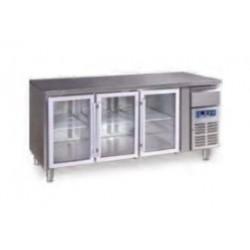 Bajomostrador conservación GN 3100 TNG - 3 puertas cristal