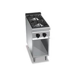 Cocina 2 fuegos a gas - Maxima 900 de Berto's