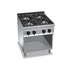 Cocina 4 fuegos a gas - Maxima 900 de Berto's