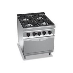 Cocina 4 fuegos a gas amb forn - Maxima 900 de Berto's