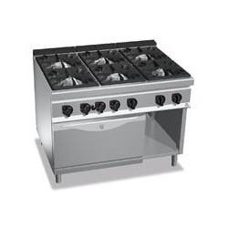 Cocina 6 fuegos a gas amb forn - Maxima 900 de Berto's