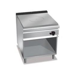 Cocina coup de feu con soporte Berto's Maxima 900
