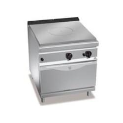 Cocina coup de feu con horno a gas Berto's Maxima 900