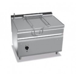 Sartén basculante eléctrica 120 L - Berto's Maxima 900