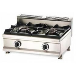 Cocina a gas 2 fuegos sobremesa - CQL-2FH