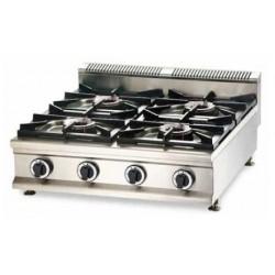 Cocina a gas 4 fuegos sobremesa - CQL-4F