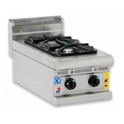 Cocina a gas 2 fuegos sobremesa - CG40600