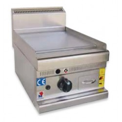 Fry top a gas cromo duro de sobremesa - PG40600