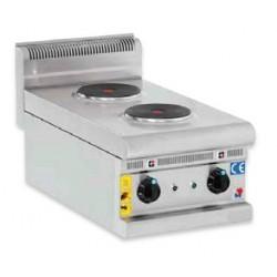 Cocina eléctrica sobremesa 2 fuegos - CE40600