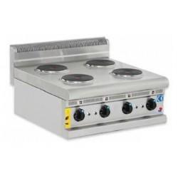 Cocina eléctrica sobremesa 4 fuegos - CE60600
