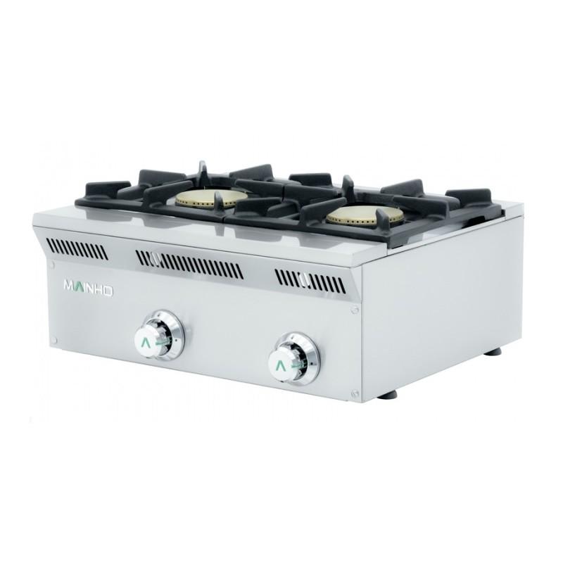 Cocina econ mica dos quemadores a gas mainho gama eco line for Cocinas economicas a gas