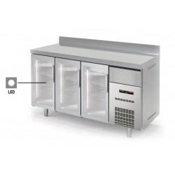 Altomostrador refrigerado puertas de cristal - Gama Speed