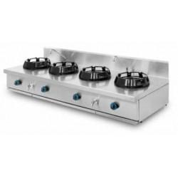 Cocina wok sobremesa 4 quemadores PAV/04-4C-WL