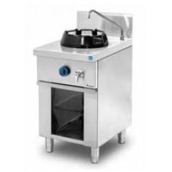 Cocina wok de pie 1 quemador MOB/01-1C-WL