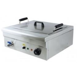 Freidora eléctrica con grifo de vaciado 12 L - FRY 18