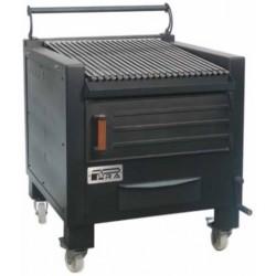 Barbacoa de carbón con soporte BBQ-M80 - Pira