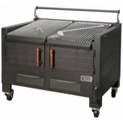 Barbacoa de carbón con soporte BBQ-M120 - Pira