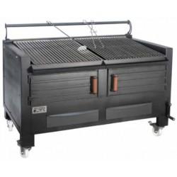 Barbacoa de carbón con soporte BBQ-M150 - Pira