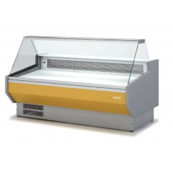 Vitrina expositora Speed VED 10 R TF - cristal recto