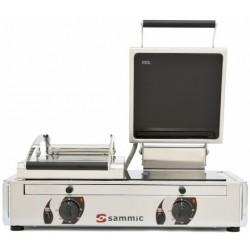 Plancha vitro - grill doble con tapa - Sammic