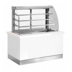 Buffet self-service Janus vitrina refrigerada - fondo 1050 mm
