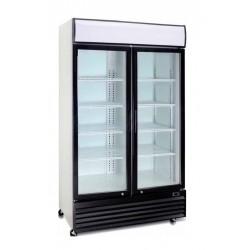 Expositor vertical conservación 2 puertas practicables - 1000 TN