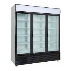 Expositor vertical conservación 3 puertas practicables - 1710 TN