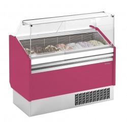 Vitrina de helados Infrico - Serie Ibiza 7 o 9 cubetas
