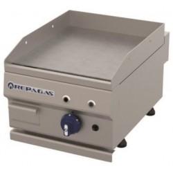 Plancha a gas acero rectificado 40 cm - Repagas PG-450