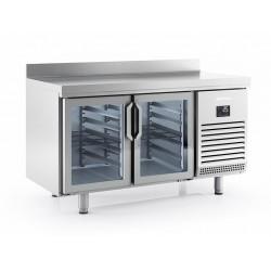 Mesa refrigeración Infrico BMGN 1470 CR - 2 puertas cristal
