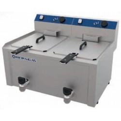 Freidora eléctrica de sobremesa 7 + 7 L - FES-7+7M Repagas