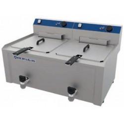 Freidora eléctrica de sobremesa 10 + 10 L - FES-10+10MP Repagas