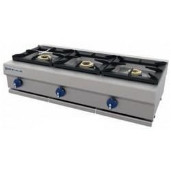 Cocina a gas 3 fuegos sobremesa CG-530/M - Repagas
