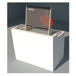 Mampara protectora cristal templado - modelo C1