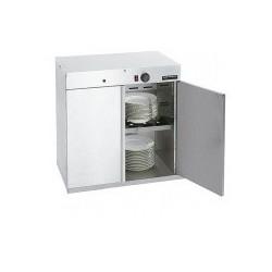 Armario calentador de platos doble