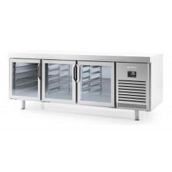 Mesa refrigeración pastelería Infrico MR 2190 CR - 3 puertas cristal