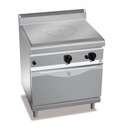 Cocina coup de feu con horno a gas GN 2/1 - Berto's Macros 700