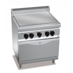 Coup de feu o tutta piastra eléctrica con horno GN 1/1 - Berto's Macros 700