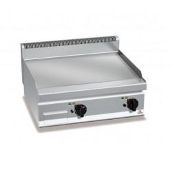 Fry top eléctrico acero rectificado - Berto's Macros 700