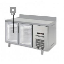 Bajomostrador refrigeración Docriluc 2 puertas cristal - BMR 150 V