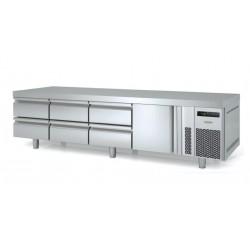 Mesa fría bajococina Docriluc 2 cajones y 1 puerta - BCR 135 C