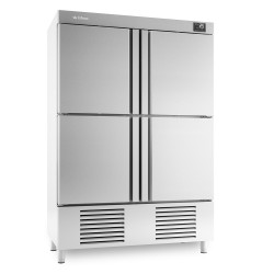Armario de refrigeración 4 puertas Infrico Euronorm 600 x 400 – AN 904 T/F