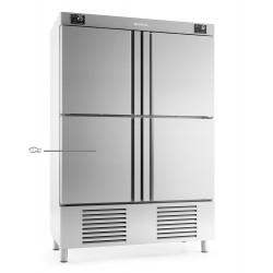 Armario refrigeración 4 puertas con departamento pescado Infrico Nacional 1000 L  – ANDP 1004 TF/G