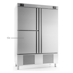 Armario refrigeración 3 puertas con departamento pescado Infrico Nacional 1000 L  – ANDP 1003 TF/G
