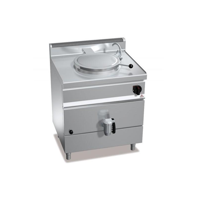 Marmita a gas calentamiento directo 55 L - Berto's Macros 700