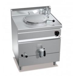 Marmita a gas calentamiento indirecto 55 L - Berto's Macros 700