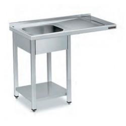 Fregadero 1 cuba con espacio para lavavajillas - fondo 70